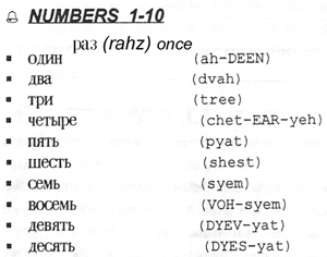 Russian Grammar The Number 91